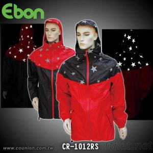 Reflective Raincoat-CR-1012RS-2
