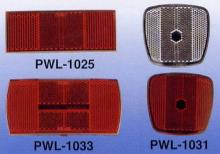 PWL-1025 Front & Rear Reflector